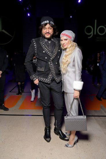 Филипп Киркоров с Катей Гусевой