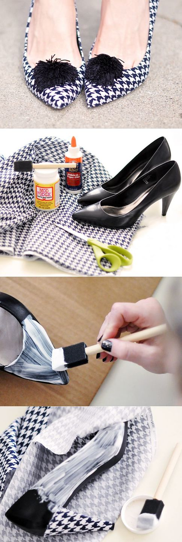 переделка обуви своими руками фото объектив