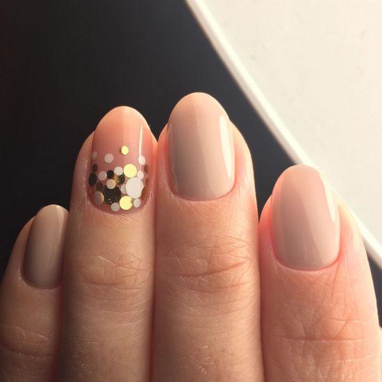 Идеи модного маникюра для круглых ногтей