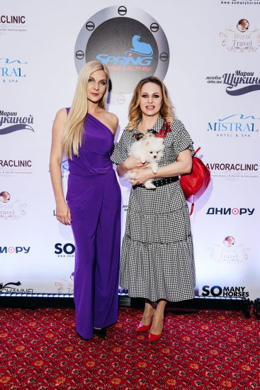 Екатерина Кабакова и Алла Довлатова
