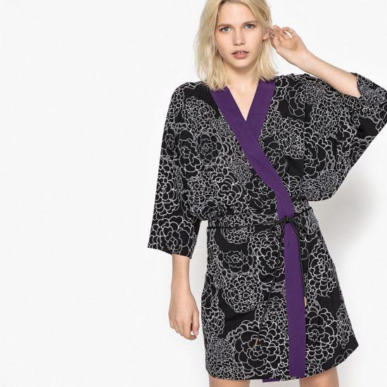 Платье-кимоно для полных