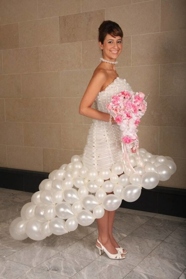 знали, платье из шариков фото этом месте встречаются