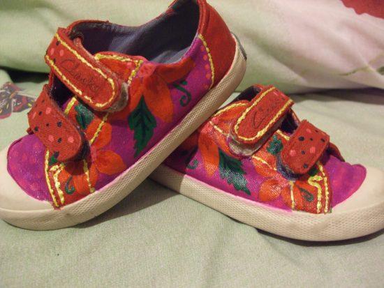 Детская обувь с рисунком