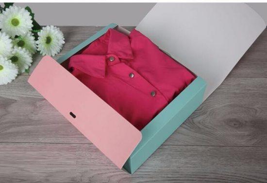 Мужская рубашка в коробке