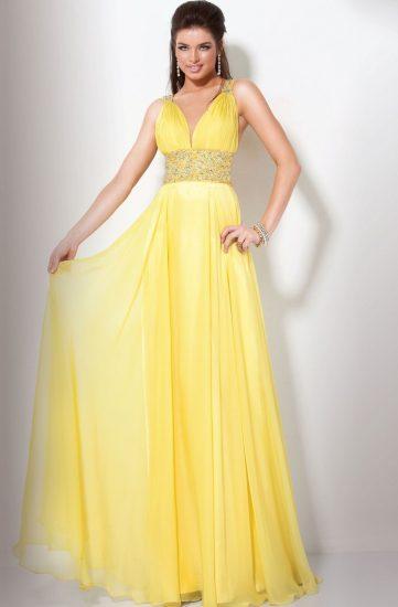 Платье в греческом стиле на выпускной