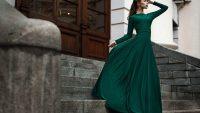 платье в пол для выпускного