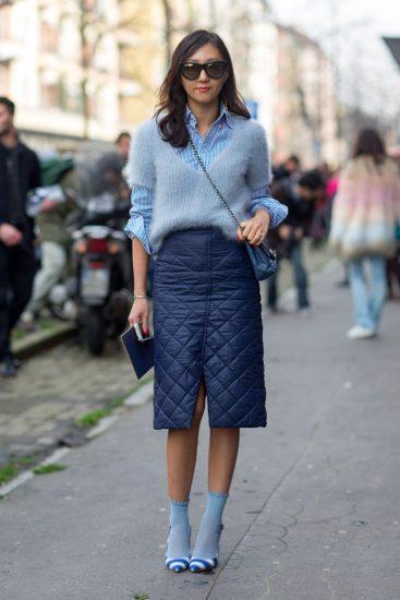 Модный образ с носками