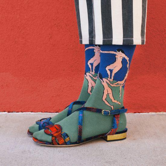 Модные носки с рисунком