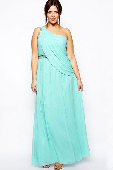 Платье с высокой талией на выпускной