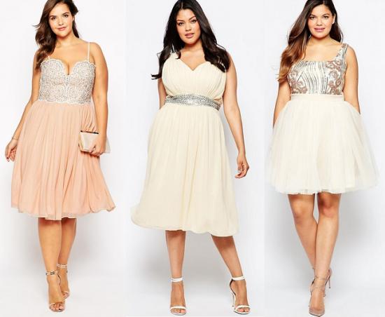 Модели коктейльных платьев