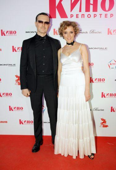 Егор Бероев и Ксения Алфёрова на «Белой вечеринке»