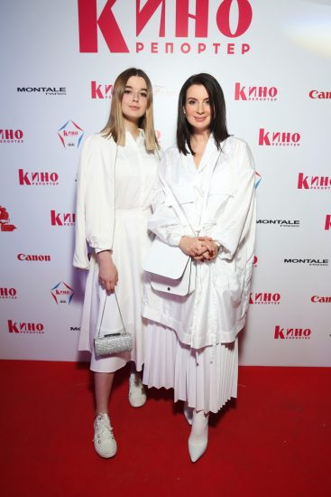 Саша и Екатерина Стриженовы в белом