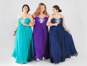 Полные девушки в длинных платьях