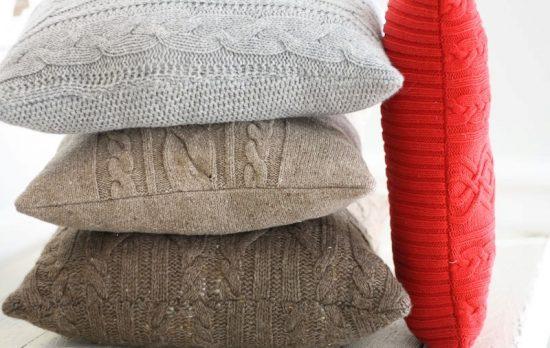 Уютные чехлы для подушек
