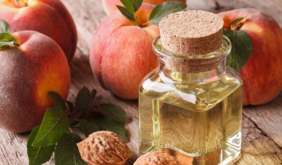 Персики и персиковое масло