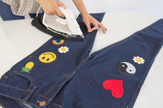 Заплатки-аппликации для джинсов