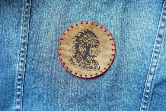 Заплатка-аппликация для джинсов