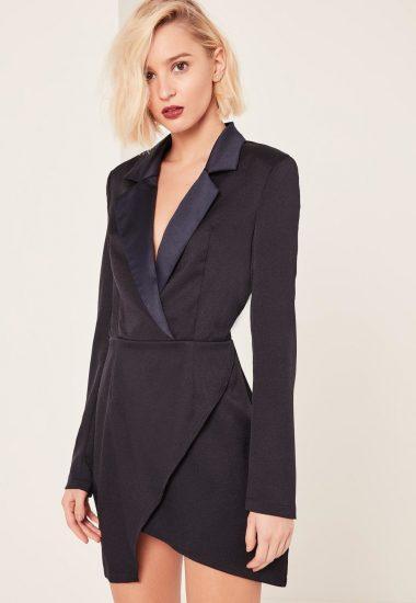 Платье из пиджака