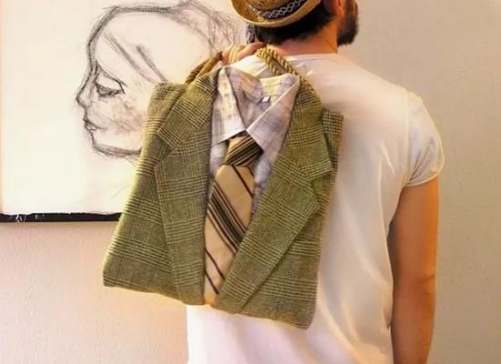 Рюкзак из пиджака