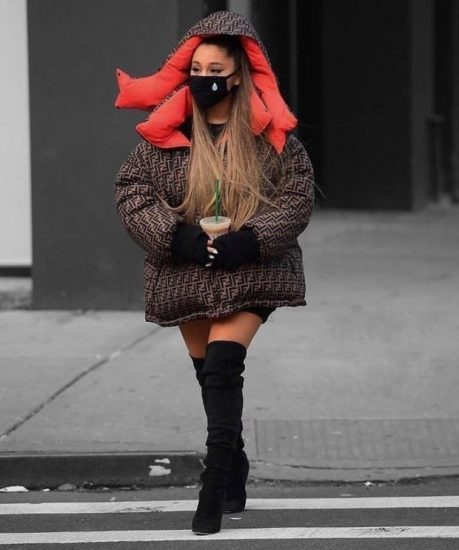 стиль одежды Арианы Гранде