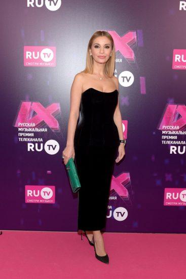 Ольга Орлова на церемонии RU.TV