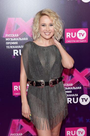 Клава Кока на церемонии RU.TV