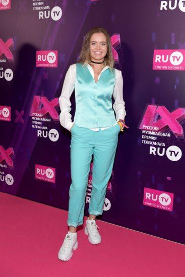 Полина Гренц на церемонии RU.TV