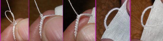 петелька на одежде для вешалки своими руками