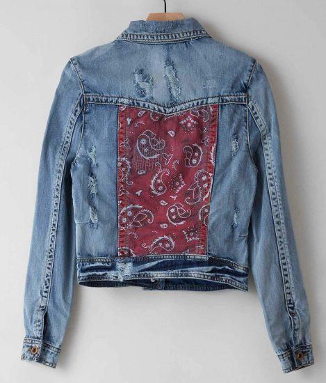 обновленная джинсовая куртка