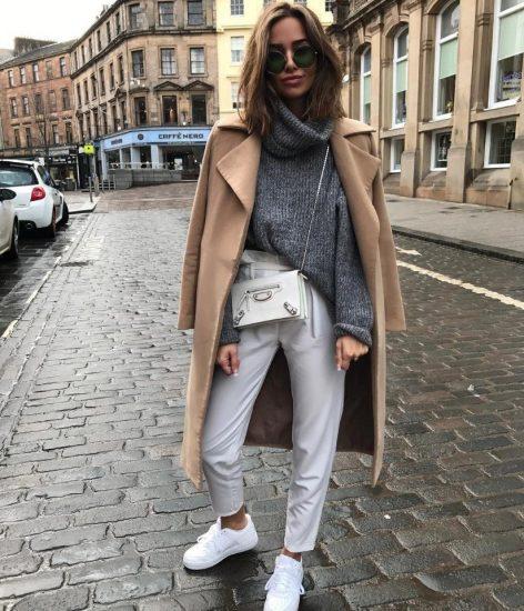 белая базовая сумка