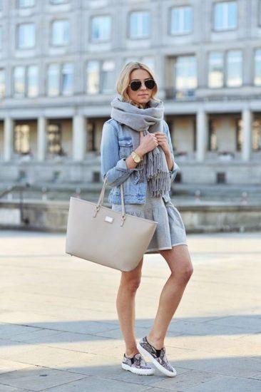 бежевая базовая сумка