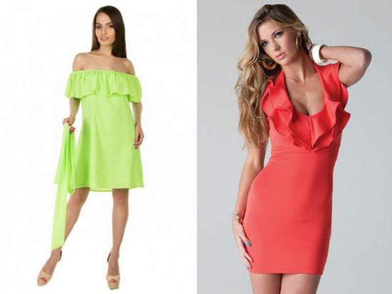 Платья для девушки с фигурой груша: фото