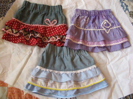 детские юбки своими руками