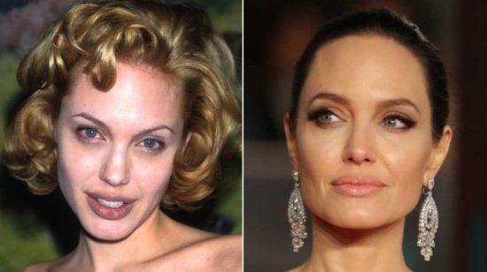 брови Анджелины Джоли