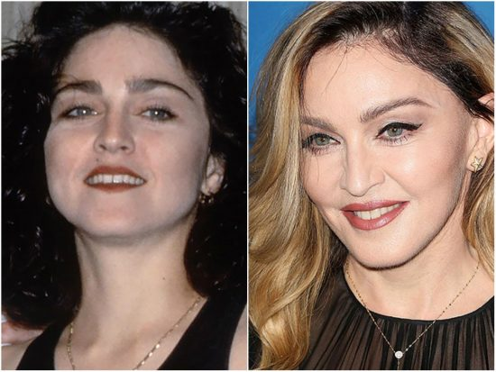 брови Мадонны