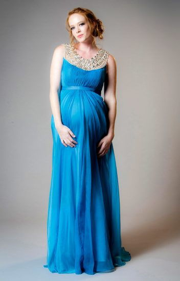 платья для беременных на праздник