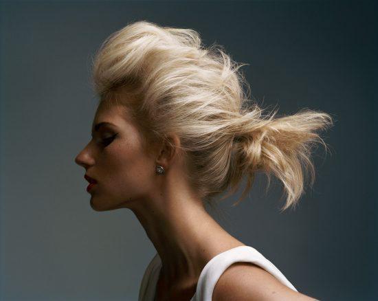 Небрежная причёска