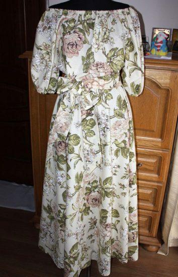 платье из бязи