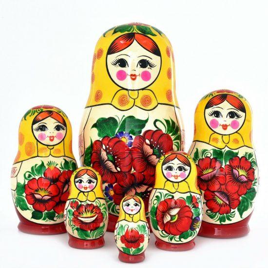 Русские матрёшки