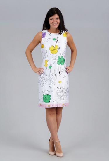 Девушка в платье от «Настаси»