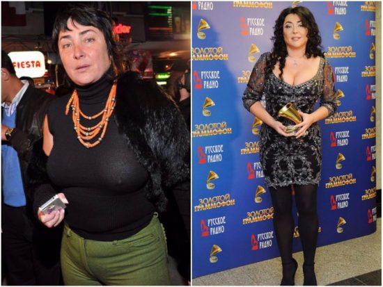 Лолита до и после похудения