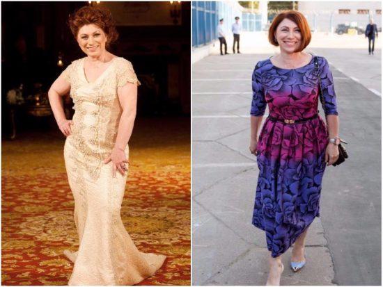 Роза Сябитова до и после похудения