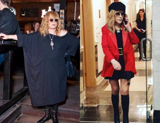 Алла Пугачёва до и после похудения