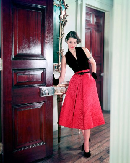 Платье в стиле 40-ых