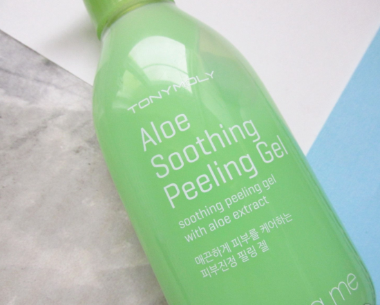 Peeling Me Aloe Soothing Peeling от Tony Moly