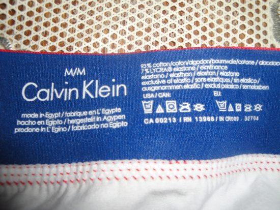 Съемная бирка Calvin Klein