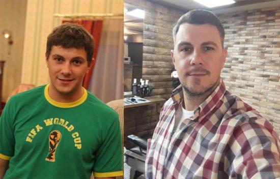 Алексей Секирин — первый муж Лены-Полено в сериале