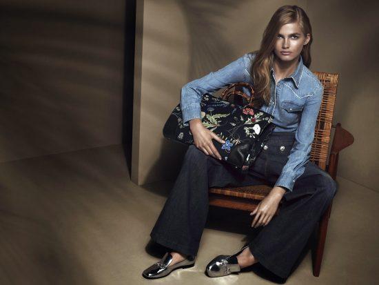 Фото рекламы Gucci