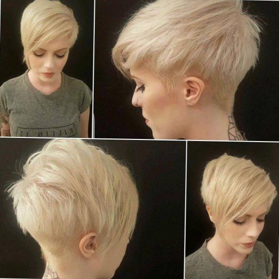 Красивые короткие волосы