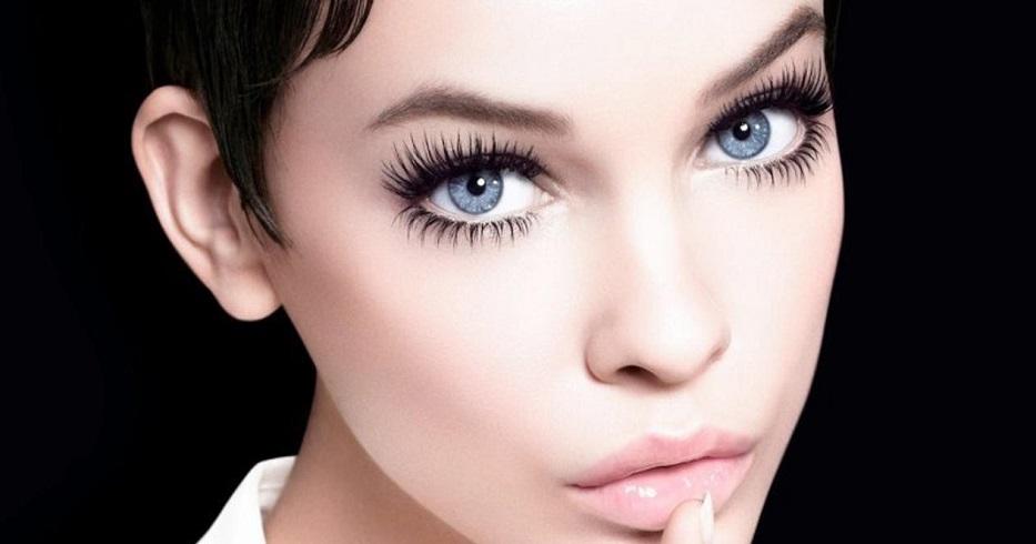 красивый макияж для увеличения глаз фото простые